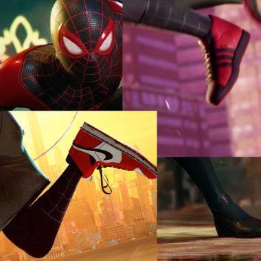 Miles Morales Spider-Man deja Nike para irse a Adidas