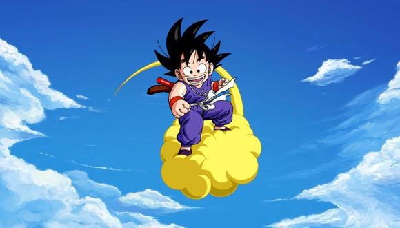 dragon ball goku niño