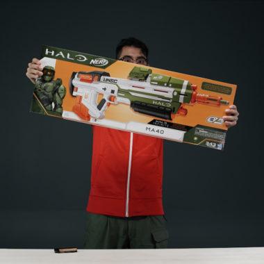 Lanzador Nerf de Halo