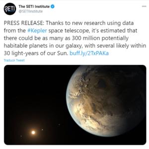 Descubren 300 millones de planetas habitables