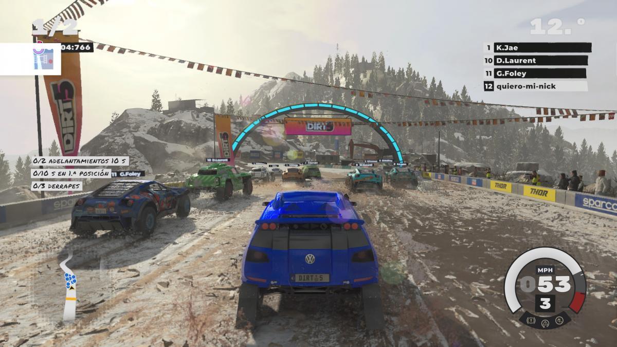 Dirt 5 gameplay xbox