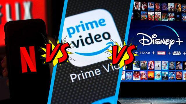 Qué servicio de streaming es mejor Disney Plus Netflix Amazon Prime