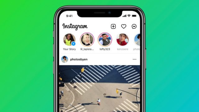 Instagram agrega más pestañas