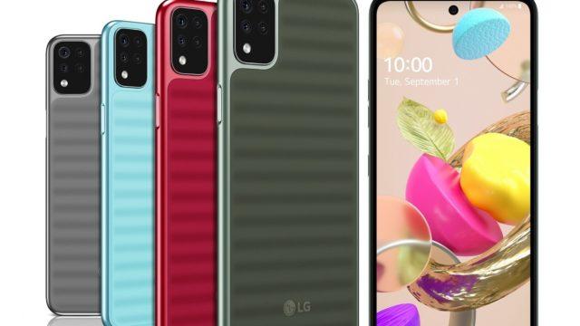 LG Nuevos Smartphones Serie K