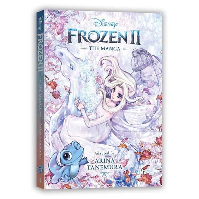 Portada del manga de Frozen 2