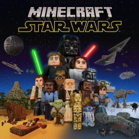 Minecfraft lanza su DLC de Star Wars