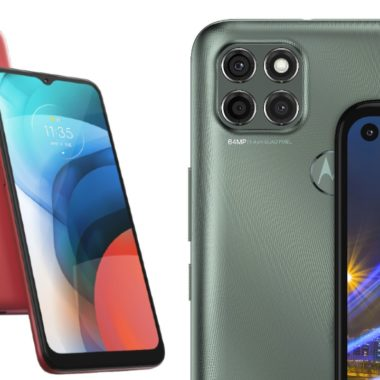 Motorola presenta el Moto E7 y Moto G9 Power