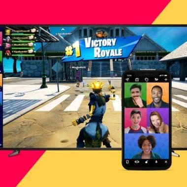 Videollamadas Fornite
