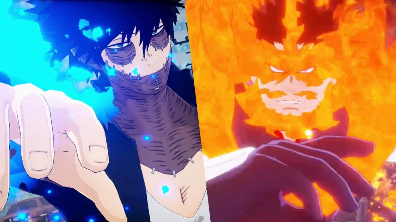 dabi endeavor boku no hero