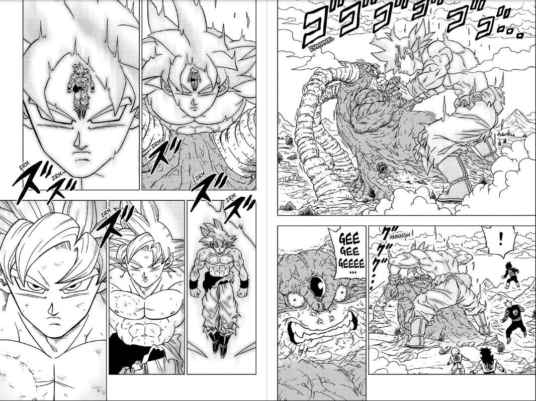 dragon ball super manga 66