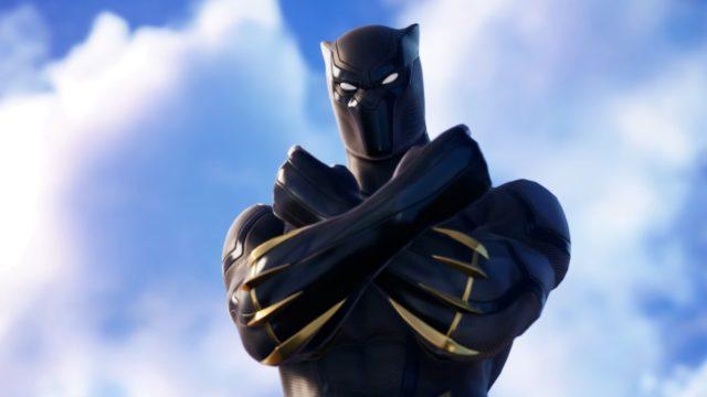 Fortnite presenta a Black Panther