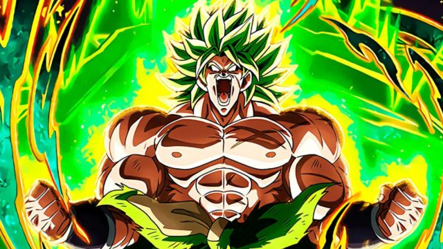 Broly en Dragon Ball