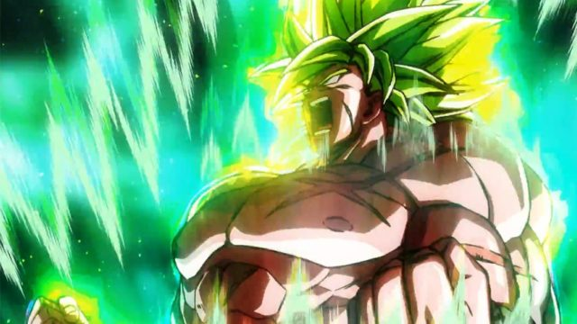 Broly Dragon Ball Super