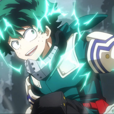Cosplay de Deku de My Hero Academia