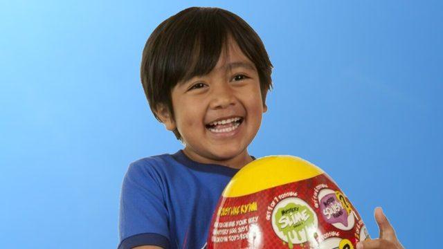 Ryan Kaji con tan sólo 9 años fue nombrado como el youtuber mejor pagado