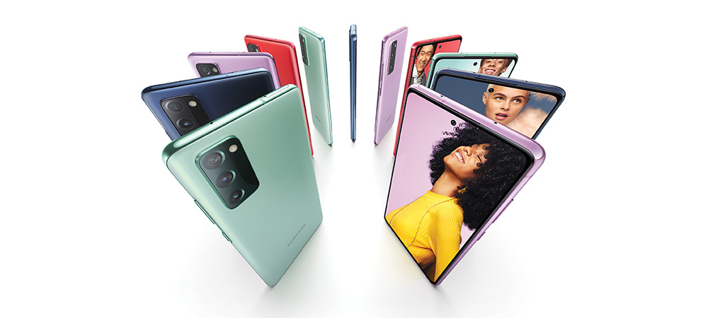 Colores del nuevo Samsung Galaxy S20 FE