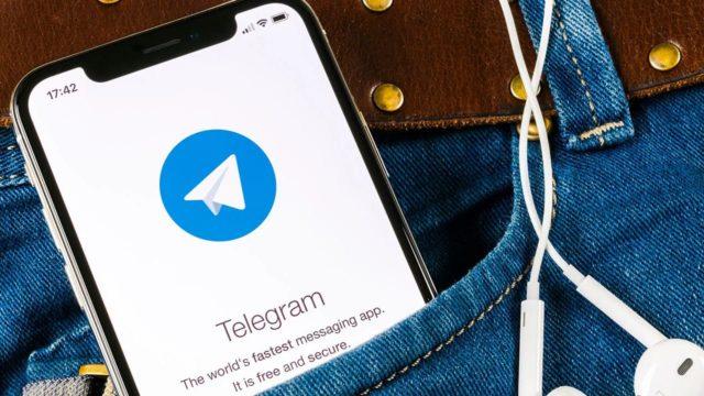 Telegram prueba función de mensajes con Siri