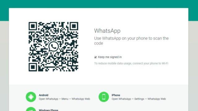 WhatsApp Web prueba videollamadas