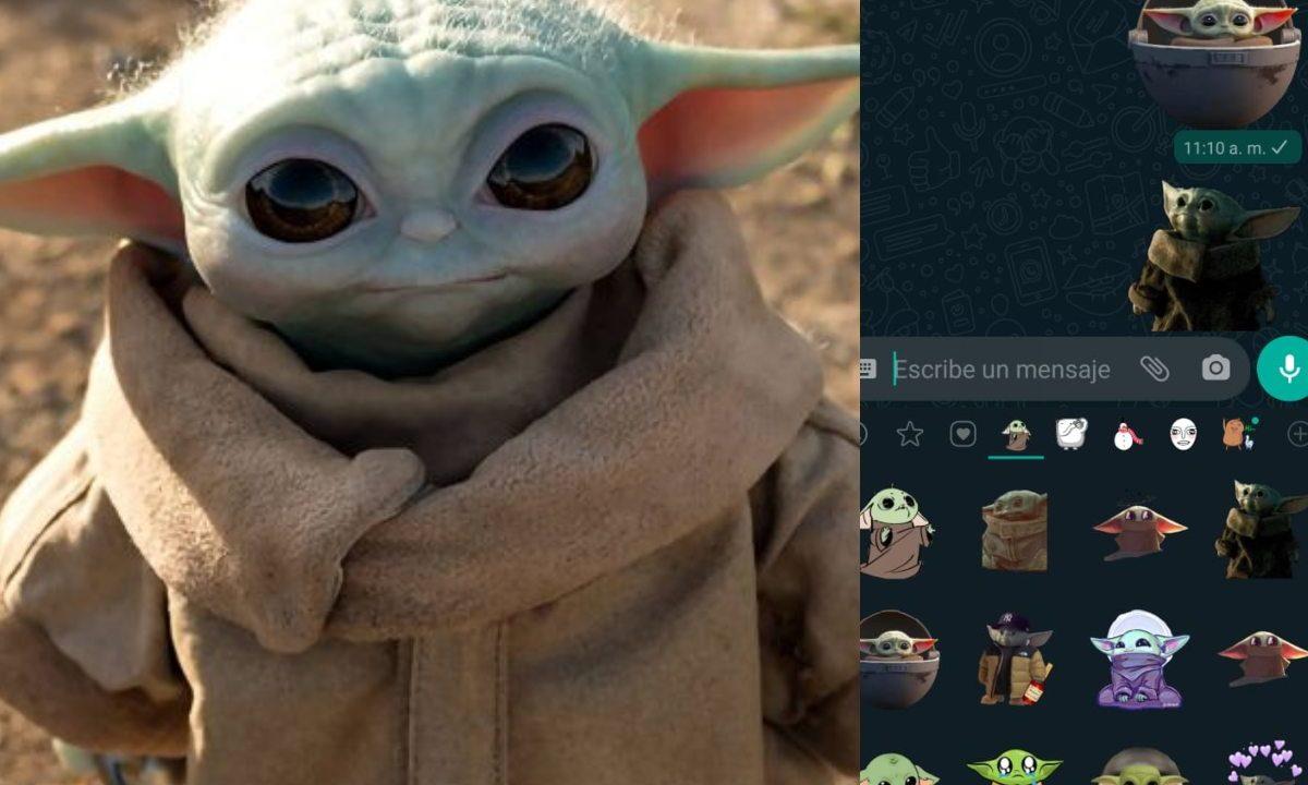 Baby Yoda Stickers WhatsApp