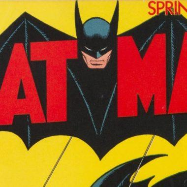 Batman primera edición se vende por récord en subasta