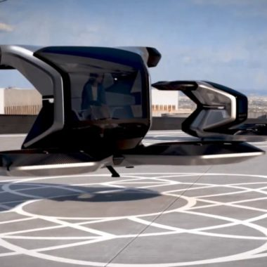 Cadillac presenta prototipo de auto volador