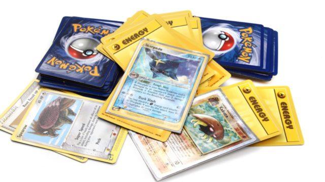 Las cartas de Pokémon son de la edición de 1999