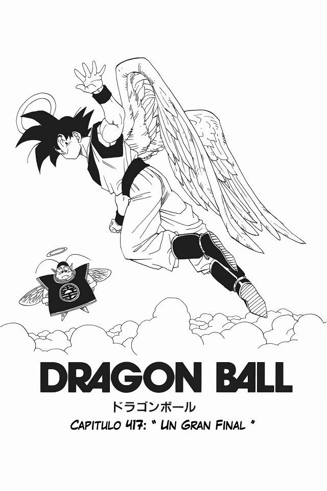 Capítulo 417 manga Dragon Ball