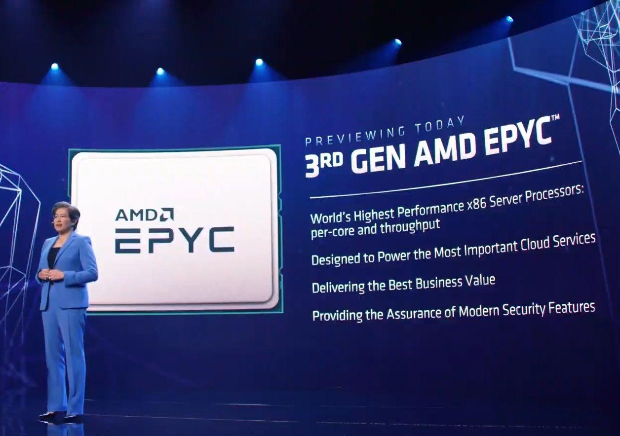 Epyc 3 AMD CES 2021