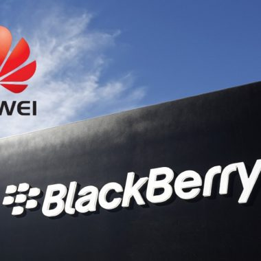Huawei compra 90 patentes de BlackBerry