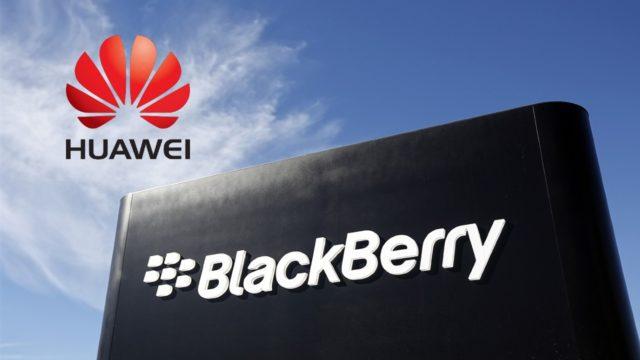 Huawei compra 90 patentes de BlackBerry