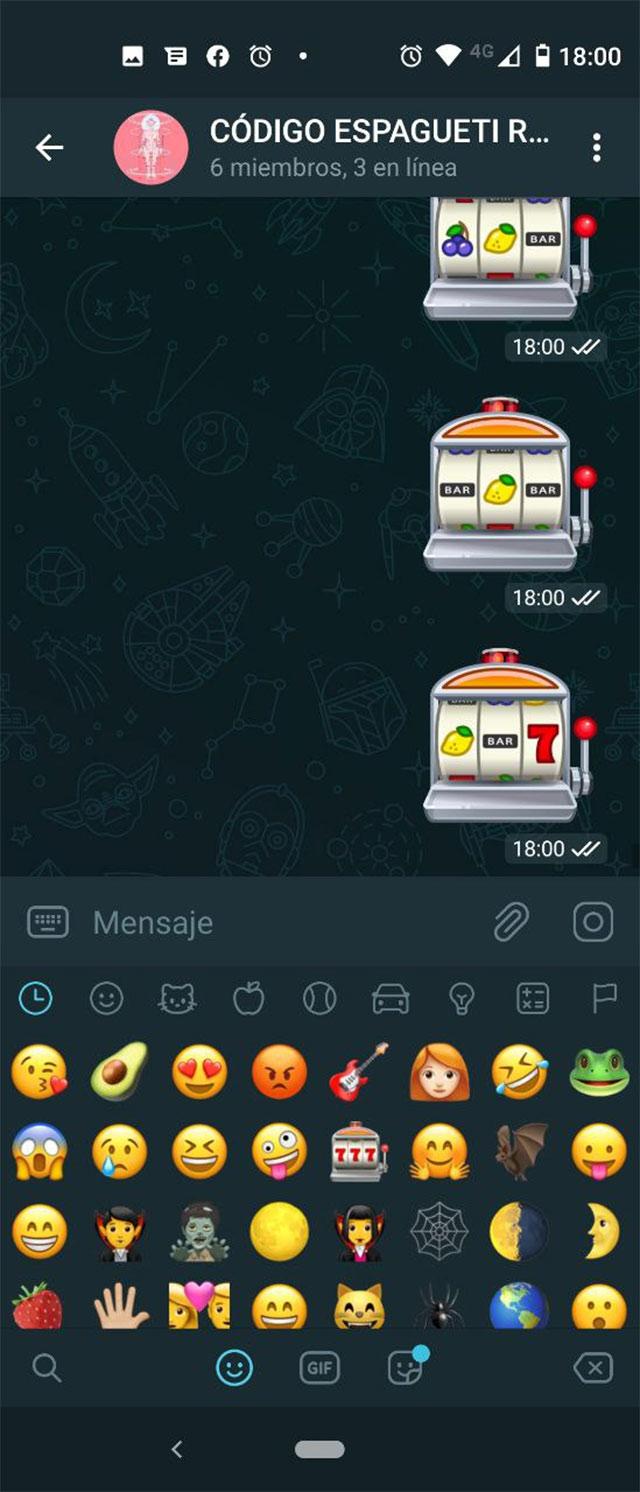 Juegos de Emojis en Telegram
