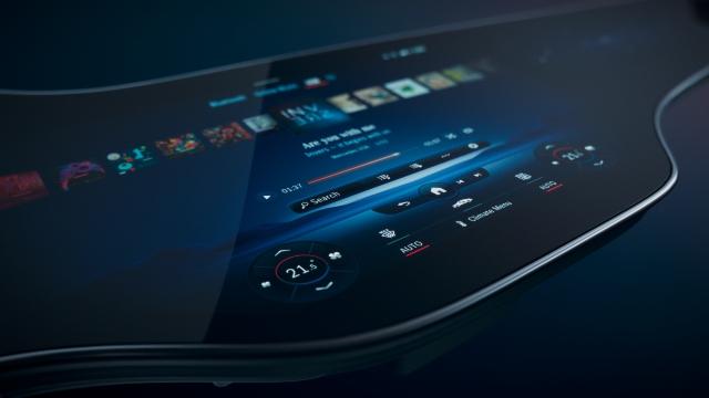 Mercedes-Benz presenta la nueva pantalla Hyperscreen