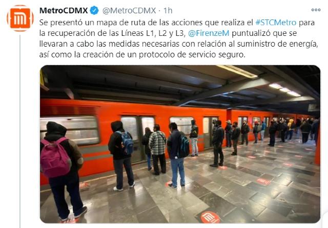 El Metro de la CDMX reanudará sus servicios de manera escalonada