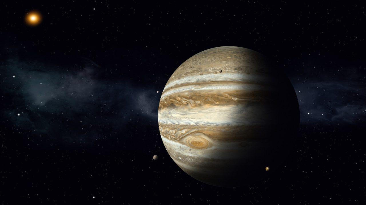 Detectan primera señal de radio procedente de Ganimedes
