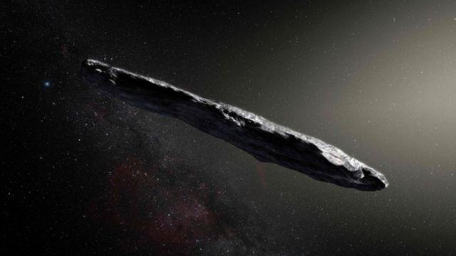 Oumuamua extraterrestres