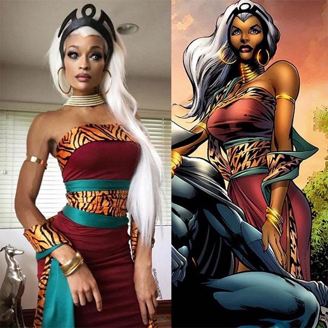 Storm X-Men Wakanda cosplay