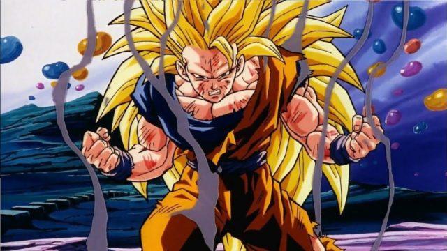 Goku Super Saiyajin Fase 3