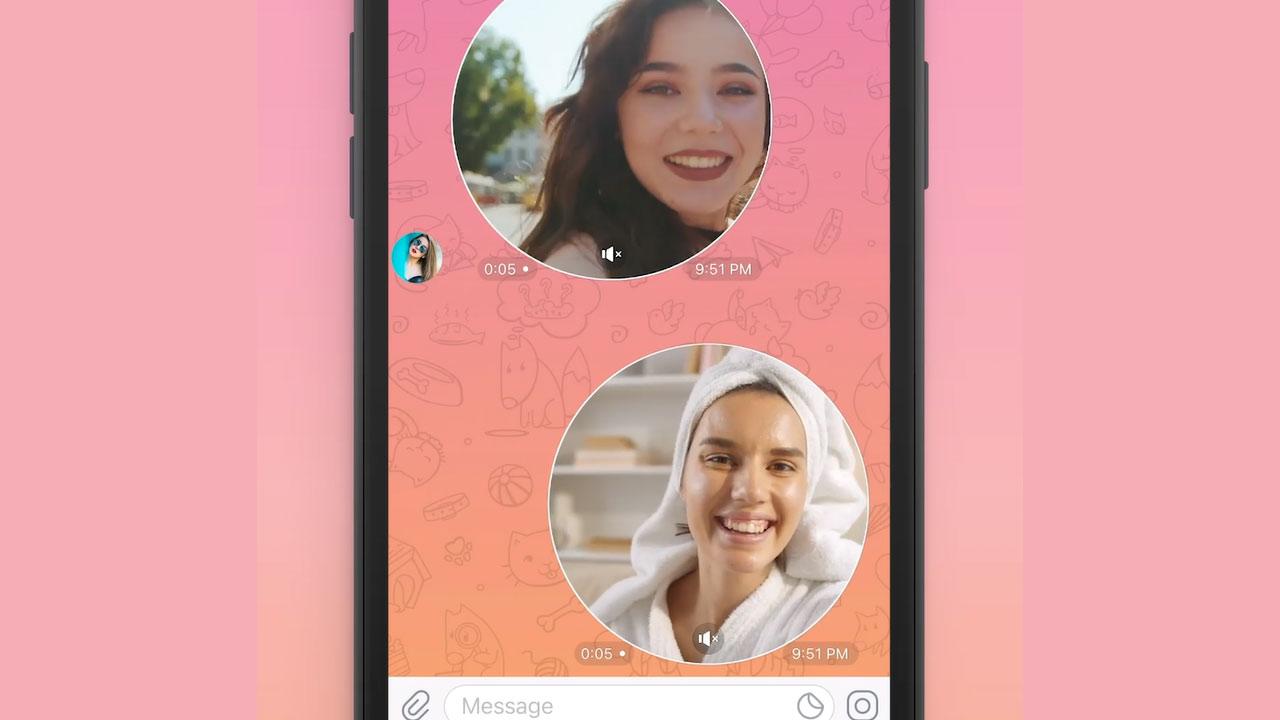 Telegram Cómo mandar mensajes de video
