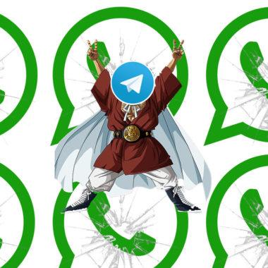 Todo lo que puedes hacer en Telegram y en WhatsApp no