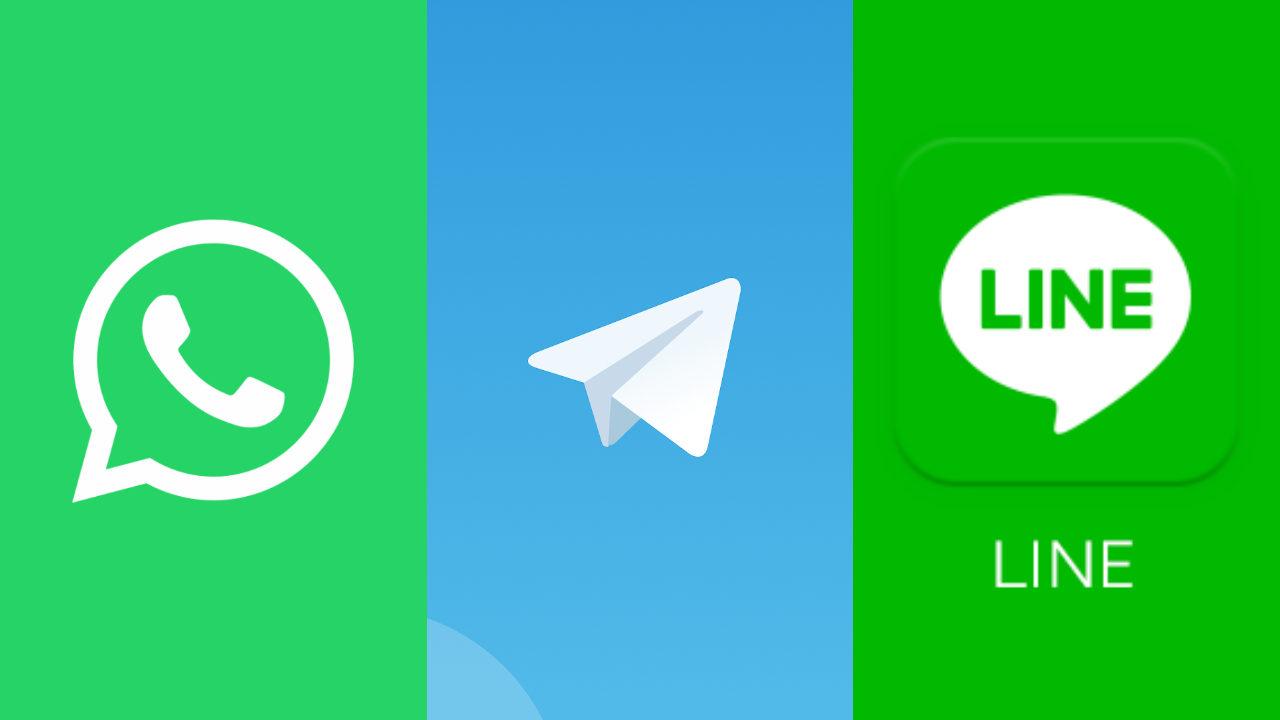 apps de mensajería 2021