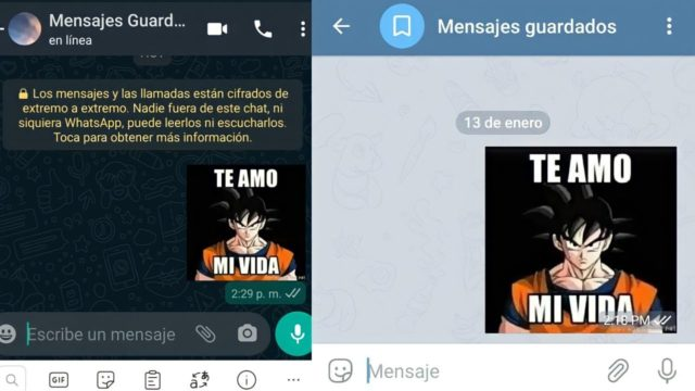 Cómo pasar stickers de WhatsApp a Telegram.