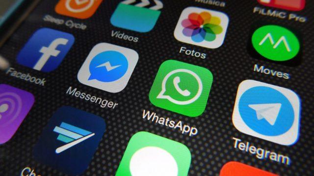 Manejo de datos en apps de mensajería instantánea.