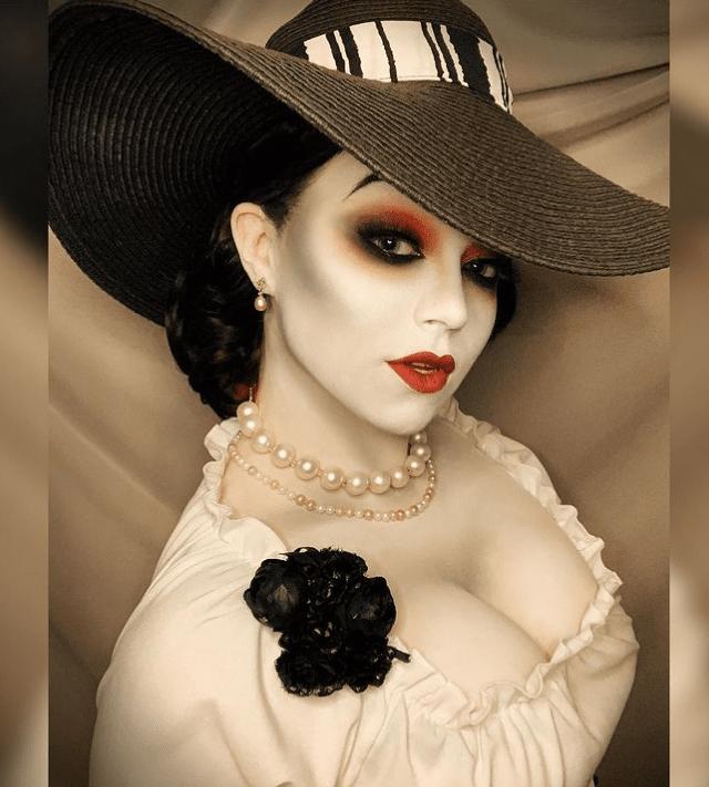 Lady Dimitrescu cosplay, Resident Evil Village